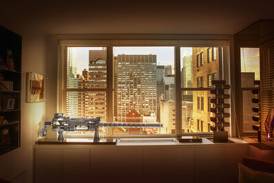 Jean Michel Berts, 'New York', 2017