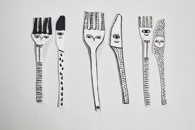 Kinska, 'Forks and Knives', 2017-2019