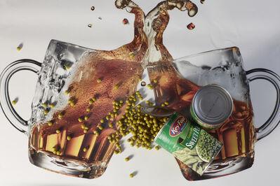 Roe Ethridge, 'Beer Mugs and Sweet Peas', 2014