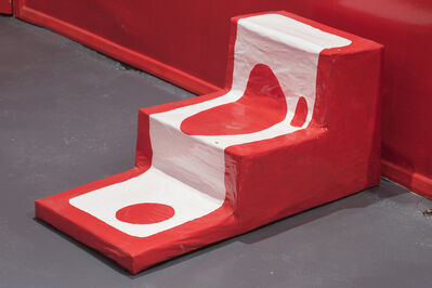 Allegra Pacheco, 'Large Red Stairs', 2015