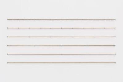Pablo Accinelli, '100 cm, 50 cm, 25 cm, 20 cm, 10 cm', 2017