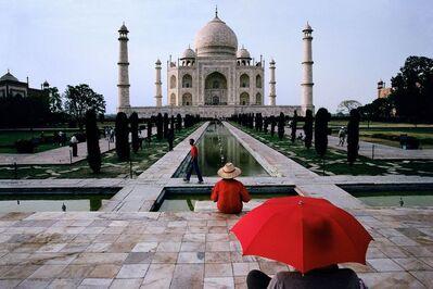 Steve McCurry, 'Red Umbrella, India', 2000