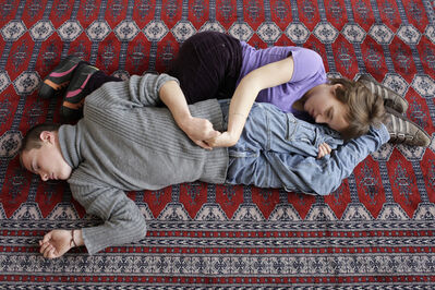Denis Darzacq, 'Charline Barboutie & Vincent Languille, Brest, Finistere, France', 2010