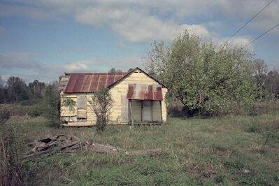 William Christenberry, 'Yellow House in Landscape, Near Akron, Alabama, 1984 (Nov.), Ed. 1/25', 1984