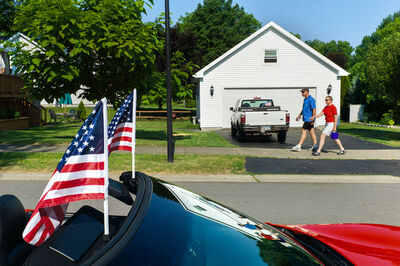 Alex Webb, 'Fourth of July, Rochester, New York', 2012