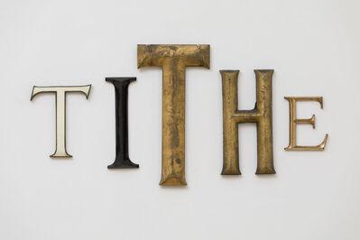 Jack Pierson, 'Tithe', 2012
