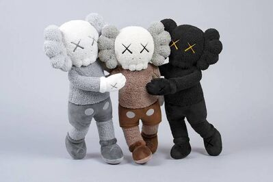 KAWS, 'HOLIDAY HONG KONG COMPANION PLUSH SET OF 3', 2019