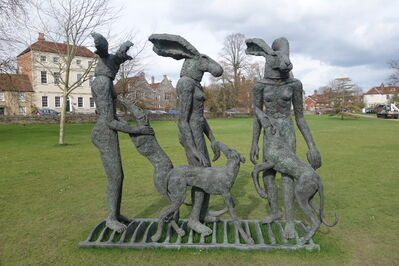 Sophie Ryder, 'Paintpots', 2001