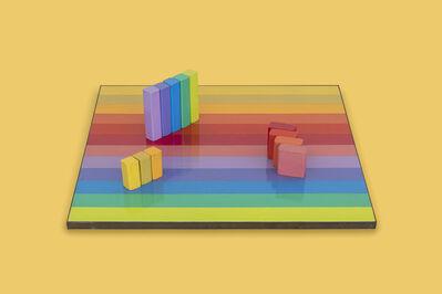 Judy Chicago, 'Multicolor Rearrangeable Game Board', 1965-1966
