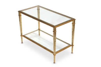 Robert Thibier, 'A two tiered side table', circa 1970
