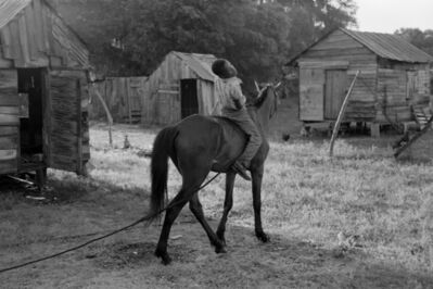 Constantine Manos, 'Untitled, Island Boy, Daufuskie Island, South Carolina (boy on horse)', 1952