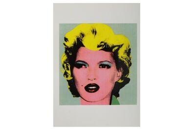 Banksy, 'Kate Moss (Crude Oils Exhibition Postcard)', 2005