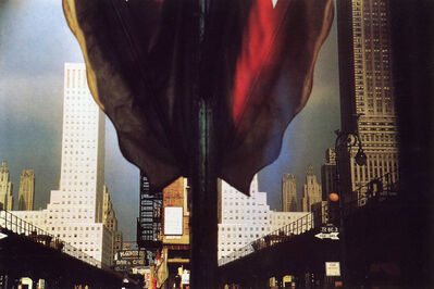 Ernst Haas, 'Third Avenue Reflection, New York City', 1952