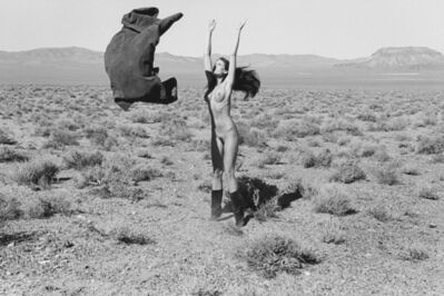 Stephan Wurth, 'Nude woman throwing blanket, Nevada 2009', 2009