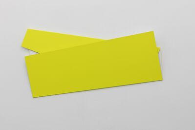 Sébastien de Ganay, 'White & Yellow', 2019