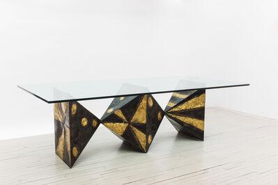 Paul Evans, 'Sculpted Metal Dining Table (no. PE21)', 1967