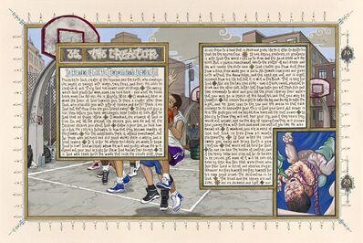 Sandow Birk, 'American Qur'an/Sura 35 (A-B)', 2011