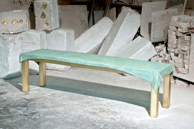 Jens Praet, 'Dressed Bench', 2013