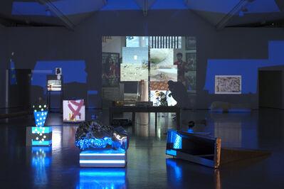 Trisha Baga, 'Installation view,Dundee Contemporary Arts, 2012,Courtesy Vilma Gold, London'
