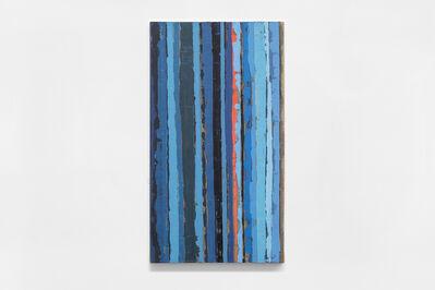 Sofía Táboas, 'Deslizamiento mono azul', 2020