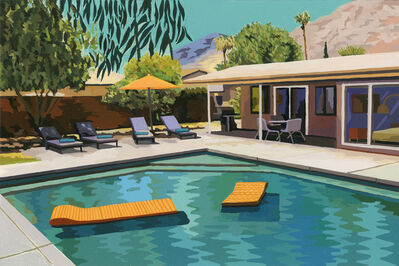 Andy Burgess, 'Palm Springs Pool', 2019