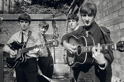 Terry O'Neill, 'The Beatles', 1963