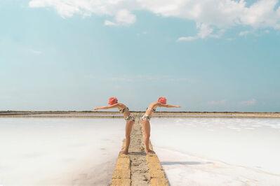 Carla Sutera Sardo, 'White Lagoon'
