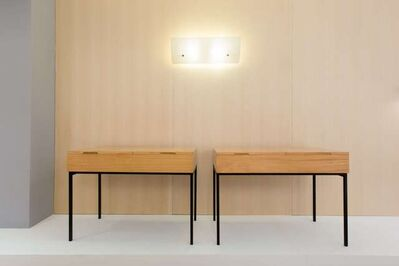 André Monpoix, 'Pair of dressing tables - writing tables 810', 1958