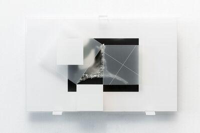 Michele Guido, 'rob_n_12.11.10_002.07 _triangolo _studio per teorema di pitagora da h. e. dudeney', 2010-2013
