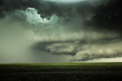 Eric Meola, 'Supercell with Hail. Chugwater, Wyoming', 2013