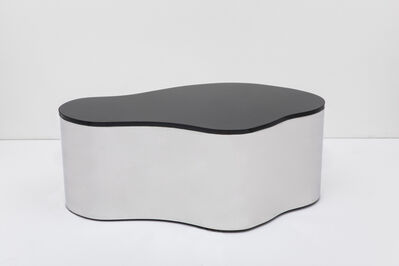 """Karl Spring LTD, 'Free Form Low Table """"B"""" with Black Top', 2016"""