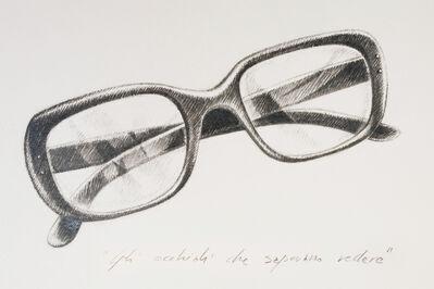 """Rocco Dubbini, '""""Gli occhiali che sapevano vedere...""""', 2013"""
