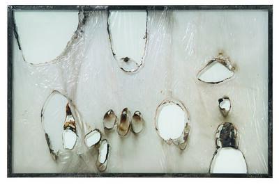 Alberto Burri, 'Grande bianco plastica (Large White Plastic)', 1964