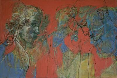 Henri Deparade, 'Agamemnon and Clytemnestra', 2017