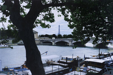 Christian Marsh, 'View Across the Seine, Paris'