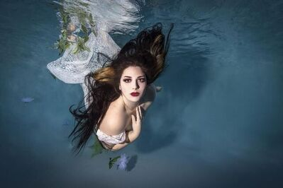 Lisa Polonet, 'Underwater Goddess', ca. 2021