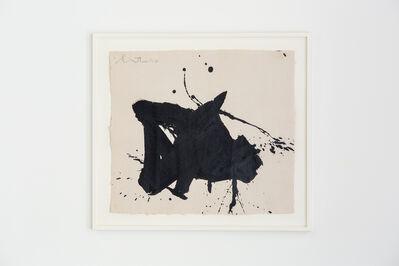 Robert Motherwell, 'Gesture Paper Painting No. 3', 1975