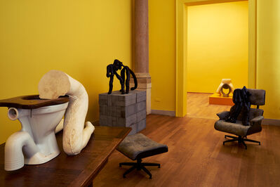 Sarah Lucas, 'I SCREAM DADDIO (Installation view)', 2015