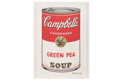 Andy Warhol, 'Campbell's Soup - Green Pea'