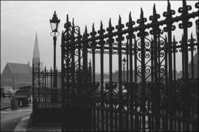 John 'Hoppy' Hopkins, 'Railings, London', ca. 1964