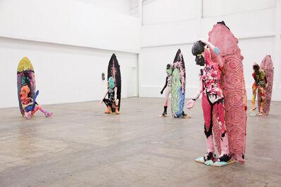 Folkert de Jong, 'Installation of La Chica de Aviñón', 2018