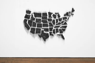 Teresita Fernández, 'Fire (United States of the Americas)', 2017