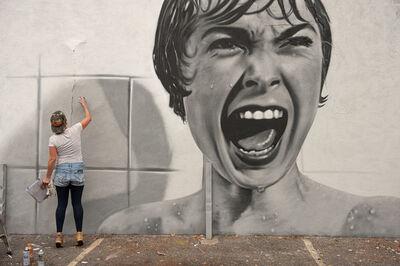 BK FOXX, 'Psycho mural', 2016