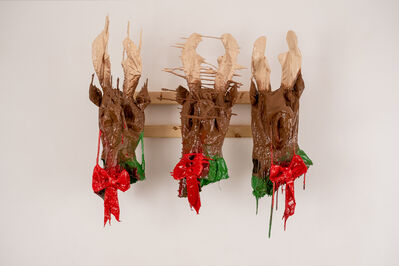 Corey Whyte, 'All Three Corey Whyte Reindeers', 2019
