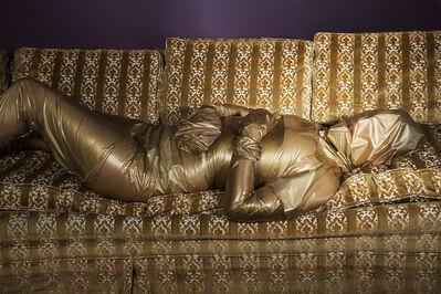 "Alison Brady, '""99 - Cent Gold""', 2014"