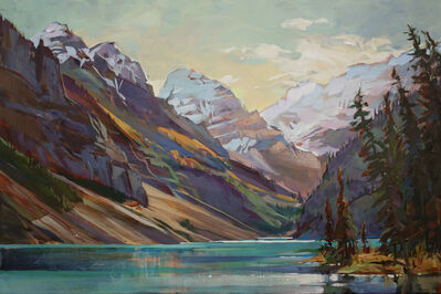 Brent Laycock, 'Lake Louise Afternoon'