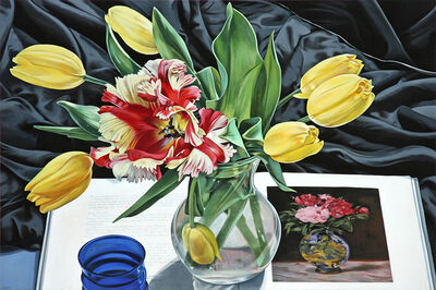 Sherrie Wolf, 'Yellow Tulips with Manet', 2017