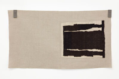 Helen Mirra, 'Undyed blacks, undyed ecru ', 2015