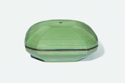 Gwang-yeol Yu, 'Celadon Square Lidded Bowl', 2006