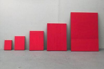 Felix Baudenbacher, 'Bau Pink A 6 - A5 - A4 - A3 - A2', 2018